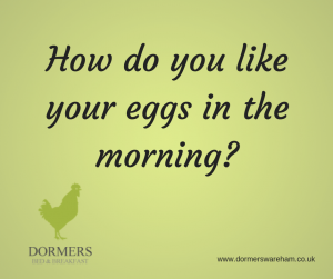 How Do you Like Your Eggs in the Morning?!